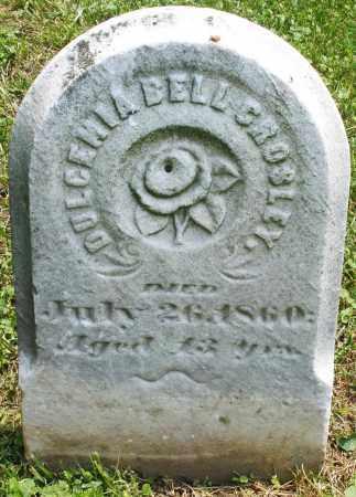 CROSLEY, DULCEMIA BELL - Warren County, Ohio | DULCEMIA BELL CROSLEY - Ohio Gravestone Photos