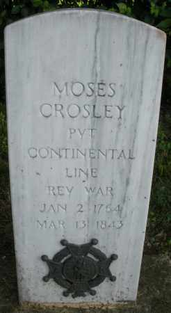 CROSLEY, MOSES - Warren County, Ohio | MOSES CROSLEY - Ohio Gravestone Photos
