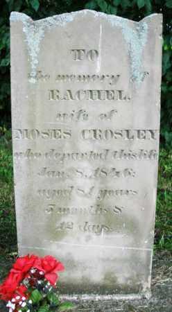 CROSLEY, RACHEL - Warren County, Ohio | RACHEL CROSLEY - Ohio Gravestone Photos