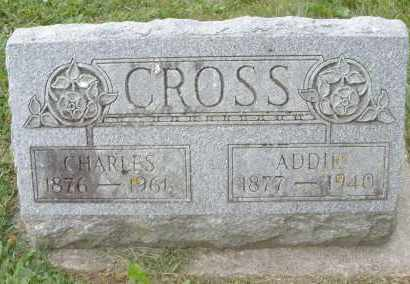 CROSS, CHARLES - Warren County, Ohio | CHARLES CROSS - Ohio Gravestone Photos