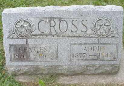 CROSS, ADDIE - Warren County, Ohio | ADDIE CROSS - Ohio Gravestone Photos