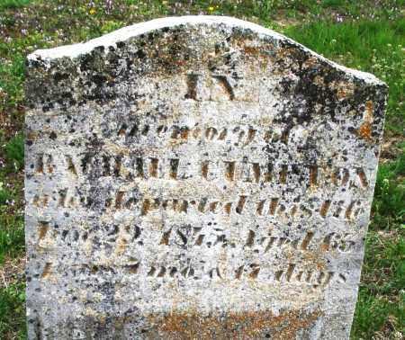 CUMPTON, RACHAEL - Warren County, Ohio | RACHAEL CUMPTON - Ohio Gravestone Photos