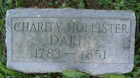 HOLLISTER DAKIN, CHARITY - Warren County, Ohio | CHARITY HOLLISTER DAKIN - Ohio Gravestone Photos