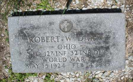 DAKIN, ROBERT  W. - Warren County, Ohio | ROBERT  W. DAKIN - Ohio Gravestone Photos