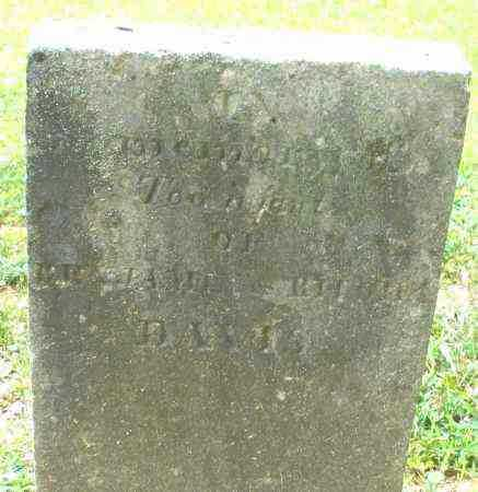 DAVIS, 2 INFANTS - Warren County, Ohio | 2 INFANTS DAVIS - Ohio Gravestone Photos