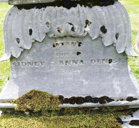 DENISE, INFANT SON - Warren County, Ohio | INFANT SON DENISE - Ohio Gravestone Photos