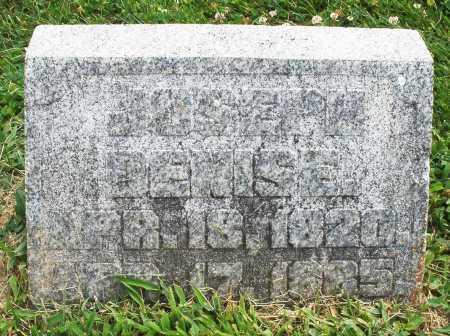DENISE, JOSEPH - Warren County, Ohio   JOSEPH DENISE - Ohio Gravestone Photos