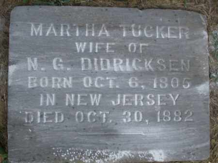 DIDRICKSEN, MARTHA - Warren County, Ohio | MARTHA DIDRICKSEN - Ohio Gravestone Photos