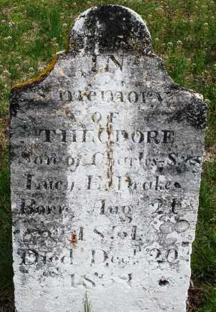 DRAKE, THEODORE - Warren County, Ohio | THEODORE DRAKE - Ohio Gravestone Photos