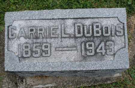 DUBOIS, CARRIE L. - Warren County, Ohio | CARRIE L. DUBOIS - Ohio Gravestone Photos