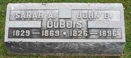 DUBOIS, JOHN B. - Warren County, Ohio | JOHN B. DUBOIS - Ohio Gravestone Photos