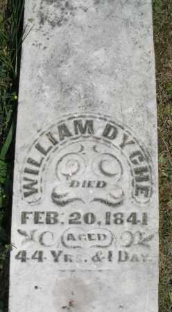 DYCHE, WILLIAM - Warren County, Ohio | WILLIAM DYCHE - Ohio Gravestone Photos
