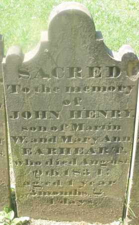 EARHEART, JOHN HENRY - Warren County, Ohio | JOHN HENRY EARHEART - Ohio Gravestone Photos