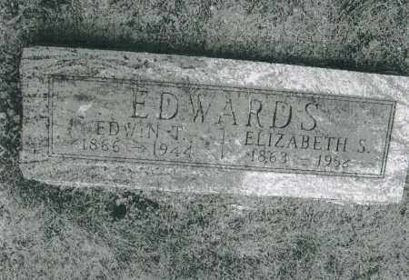 SHUTTS EDWARDS, ELIZABETH S. - Warren County, Ohio | ELIZABETH S. SHUTTS EDWARDS - Ohio Gravestone Photos