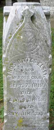 ELSEY, THOMAS  BATES - Warren County, Ohio | THOMAS  BATES ELSEY - Ohio Gravestone Photos