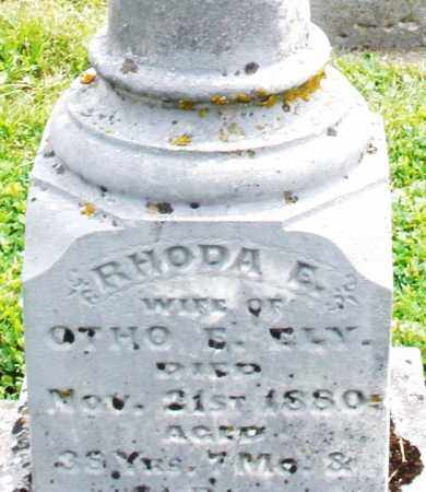 ELY, RHODA E. - Warren County, Ohio | RHODA E. ELY - Ohio Gravestone Photos