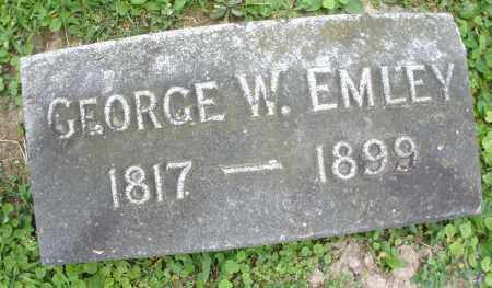 EMLEY, GEORGE W. - Warren County, Ohio | GEORGE W. EMLEY - Ohio Gravestone Photos