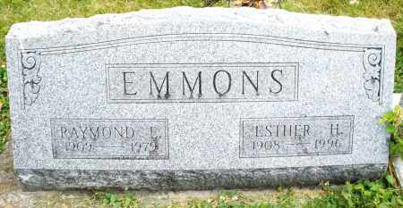 EMMONS, ESTHER H. - Warren County, Ohio | ESTHER H. EMMONS - Ohio Gravestone Photos