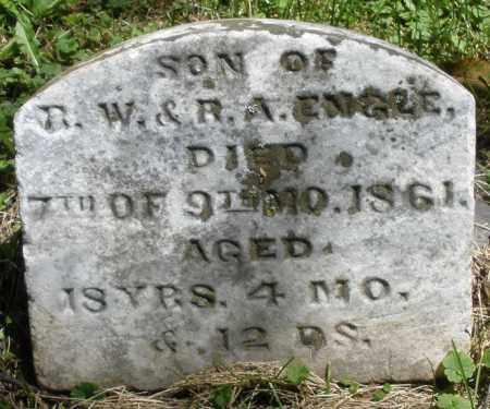 ENGLE, JAMES F. - Warren County, Ohio | JAMES F. ENGLE - Ohio Gravestone Photos