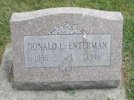 ENTERMAN, DONALD L. - Warren County, Ohio | DONALD L. ENTERMAN - Ohio Gravestone Photos