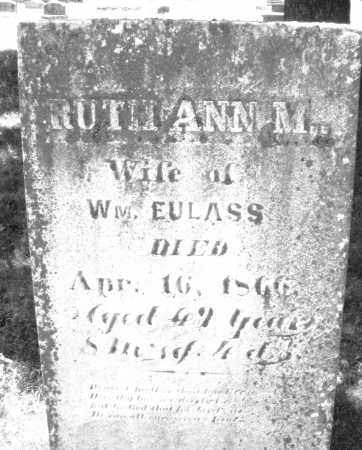 EULASS, RUTH ANN M. - Warren County, Ohio | RUTH ANN M. EULASS - Ohio Gravestone Photos