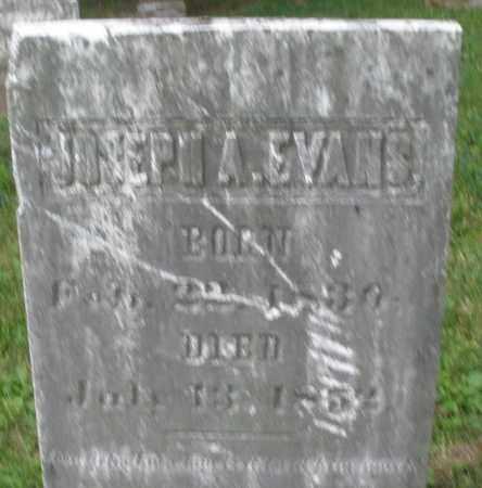 EVANS, JOSEPH A. - Warren County, Ohio | JOSEPH A. EVANS - Ohio Gravestone Photos