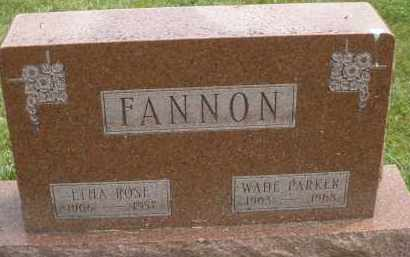 FANNON, WADE PARKER - Warren County, Ohio | WADE PARKER FANNON - Ohio Gravestone Photos