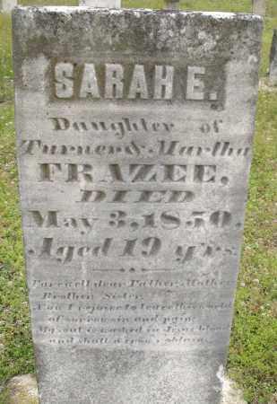 FRAZEE, SARAH E. - Warren County, Ohio | SARAH E. FRAZEE - Ohio Gravestone Photos