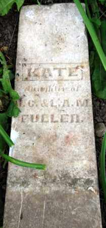 FULLER, KATE - Warren County, Ohio | KATE FULLER - Ohio Gravestone Photos
