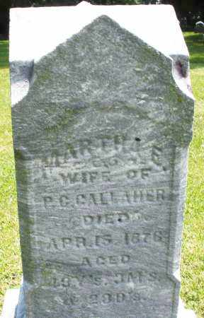 GALLAHER, MARTHA E. - Warren County, Ohio | MARTHA E. GALLAHER - Ohio Gravestone Photos
