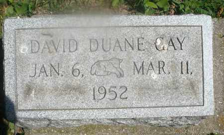 GAY, DAVID DUANE - Warren County, Ohio | DAVID DUANE GAY - Ohio Gravestone Photos