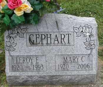 GEPHART, LEROY E. - Warren County, Ohio | LEROY E. GEPHART - Ohio Gravestone Photos