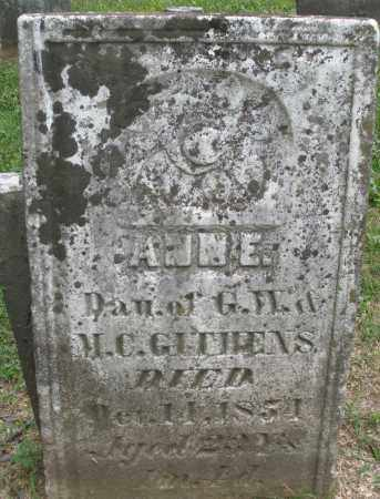GITHENS, ANN E. - Warren County, Ohio | ANN E. GITHENS - Ohio Gravestone Photos