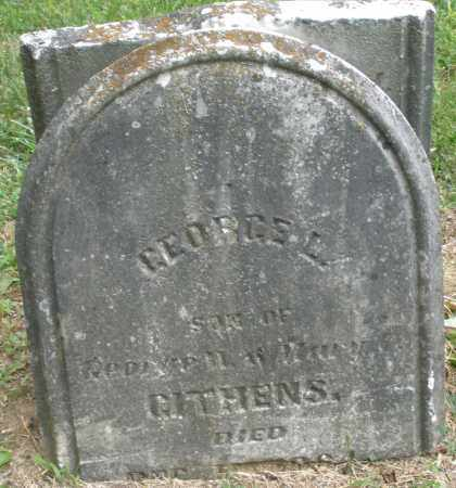 GITHENS, GEORGE L. - Warren County, Ohio | GEORGE L. GITHENS - Ohio Gravestone Photos