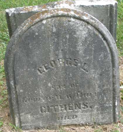 GITHENS, GEORGE L. - Warren County, Ohio | GEORGE L. GITHENS - Ohio Gravestone Photos