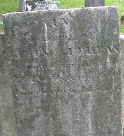 GITHENS, JAMES - Warren County, Ohio | JAMES GITHENS - Ohio Gravestone Photos