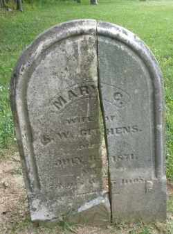 GITHENS, MARY - Warren County, Ohio | MARY GITHENS - Ohio Gravestone Photos