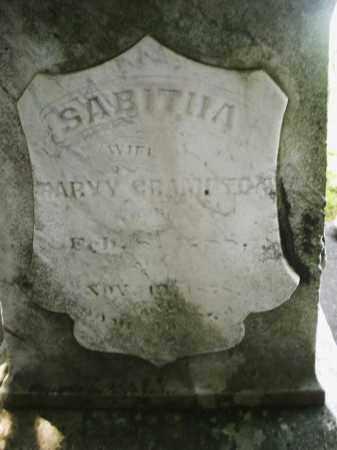 GRAMPTON, SABITHA - Warren County, Ohio | SABITHA GRAMPTON - Ohio Gravestone Photos