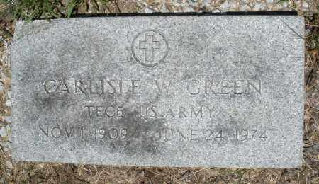 GREEN, CARLISLE W. - Warren County, Ohio | CARLISLE W. GREEN - Ohio Gravestone Photos