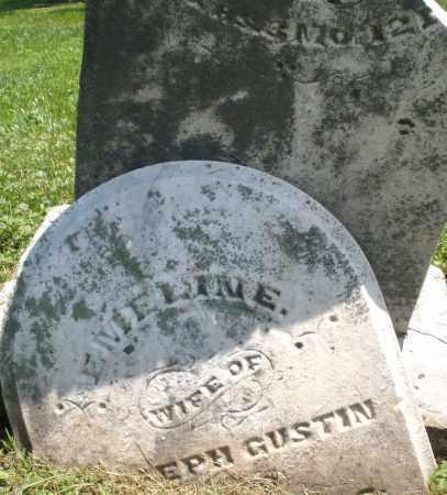 GUSTIN, EMELINE - Warren County, Ohio | EMELINE GUSTIN - Ohio Gravestone Photos