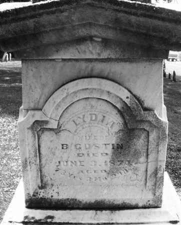 GUSTIN, LYDIA - Warren County, Ohio | LYDIA GUSTIN - Ohio Gravestone Photos