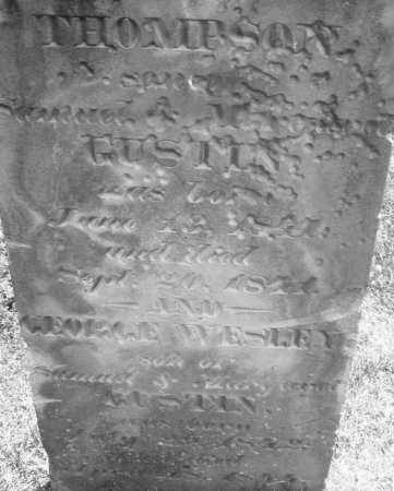 GUSTIN, THOMPSON - Warren County, Ohio | THOMPSON GUSTIN - Ohio Gravestone Photos