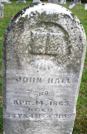HALL, JOHN - Warren County, Ohio | JOHN HALL - Ohio Gravestone Photos