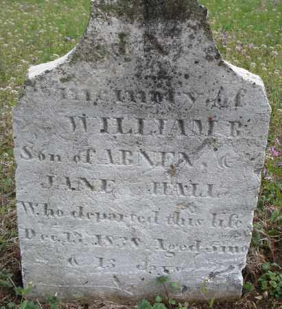 HALL, WILLIAM B. - Warren County, Ohio | WILLIAM B. HALL - Ohio Gravestone Photos