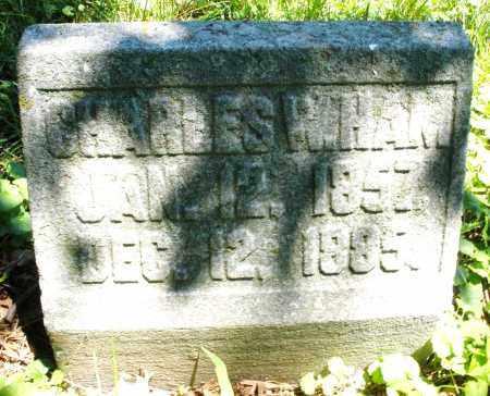 HAM, CHARLES   W. - Warren County, Ohio | CHARLES   W. HAM - Ohio Gravestone Photos