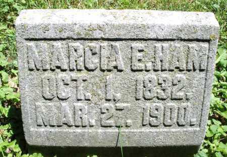 HAM, MARCIA E. - Warren County, Ohio | MARCIA E. HAM - Ohio Gravestone Photos