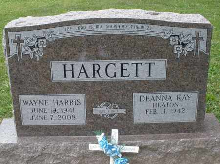HARGETT, WAYNE HARRIS - Warren County, Ohio | WAYNE HARRIS HARGETT - Ohio Gravestone Photos