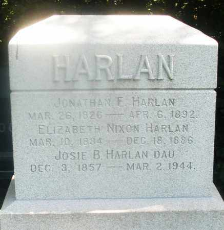 HARLAN, ELIZABETH - Warren County, Ohio | ELIZABETH HARLAN - Ohio Gravestone Photos