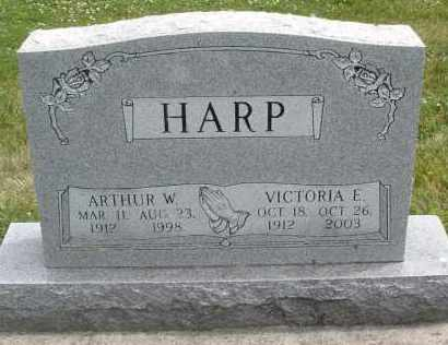 HARP, ARTHUR W. - Warren County, Ohio | ARTHUR W. HARP - Ohio Gravestone Photos