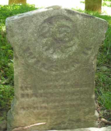 HARTSOCK, WILSON K. - Warren County, Ohio | WILSON K. HARTSOCK - Ohio Gravestone Photos